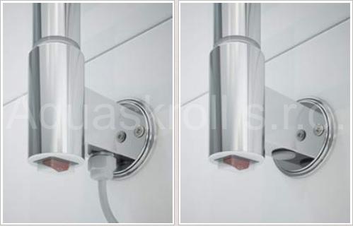 Žebřík do koupelny elektrický